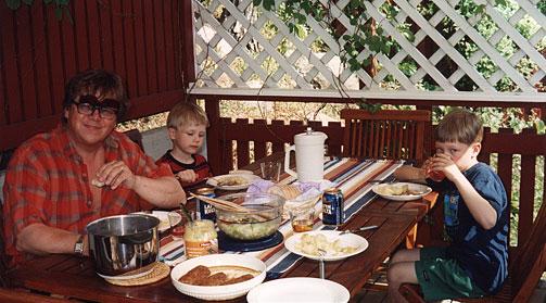 Ruokahetki perheen kanssa